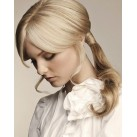 Clip in human hair ponytails / wraps