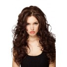 "Nail tip / U tip hair extensions 24"" (60cm) curly"