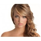 "Micro ring human hair extensions 20"" (50cm) wavy"