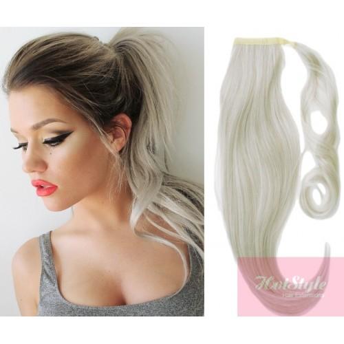Blonde Hair Ponytail Extensions Best Image Of Blonde Hair 2018