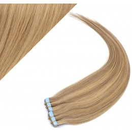"16"" (40cm) Tape Hair / Tape IN human REMY hair - light blonde/natural blonde"