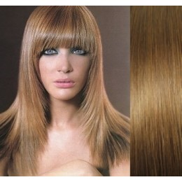 Clip in human hair remy bang/fringe – light brown