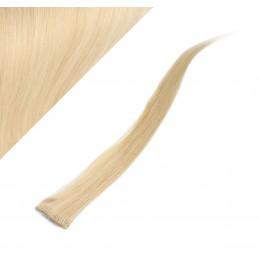 "20"" (50cm) clip in human hair streak - blonde"